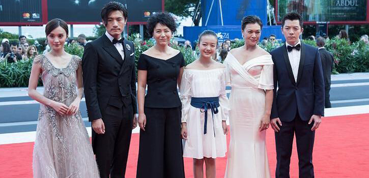 "Chinese film ""Angels Wear White"" premieres in Venice"