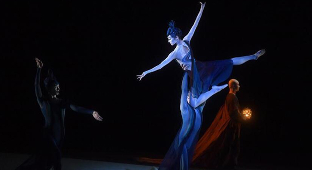 "National Ballet of China performs ""Dunhuang"" in Beijing"
