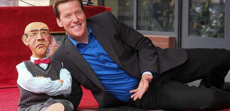 Ventriloquist Jeff Dunham receives star on Hollywood Walk of Fame