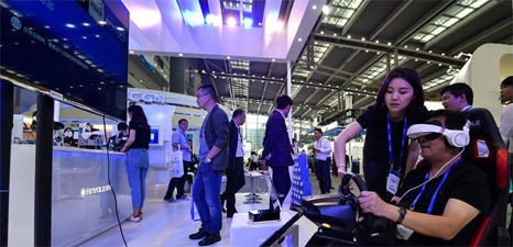 Brilliant products displayed at China Hi-tech Fair 2017