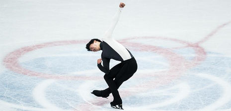 Nathan Chen claims title of men short program competition