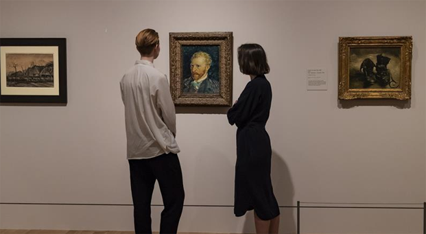 Preview for Van Gogh and Britain exhibition in London