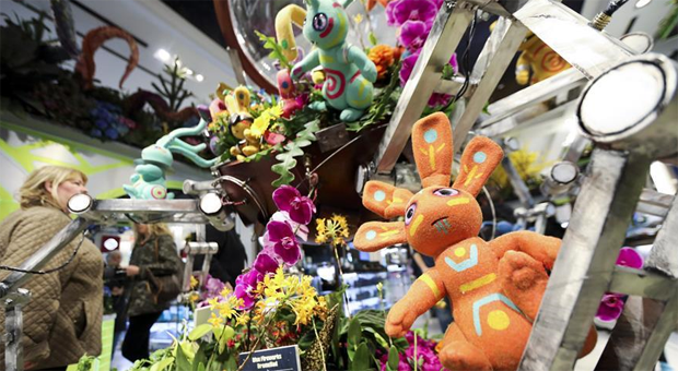 Flower Show held at Macy