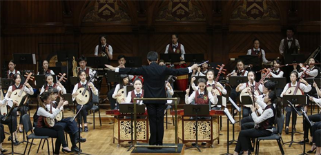 Campus concerts bring traditional Chinese music to U.S. audience